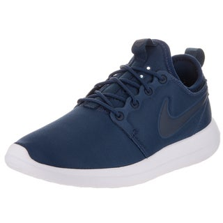 Nike Women's Roshe Two Blue Textile Running Shoes