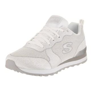 Skechers Women's Og 85 - Shimmer Time White Casual Shoe