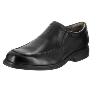 Bostonian Men's Tifton Black Leather Loafer Shoe