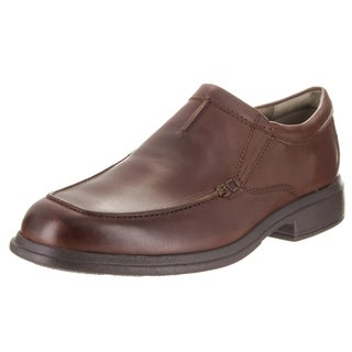 Bostonian Men's Brown Leather Tifton Step Loafers