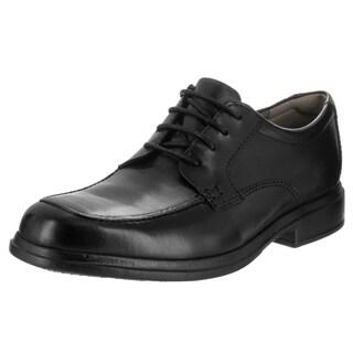 Bostonian Men's Tifton Edge Black Leather Casual Shoe