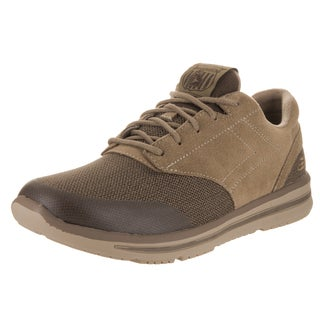 Skechers Men's Doren - Westin Brown Suede Casual Shoe