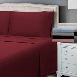 Superior 300 Thread Count Cotton Antimicrobial Sheet Set