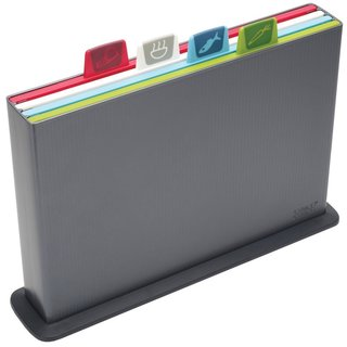 Joseph Joseph Graphite Large Index Chopping Board Set