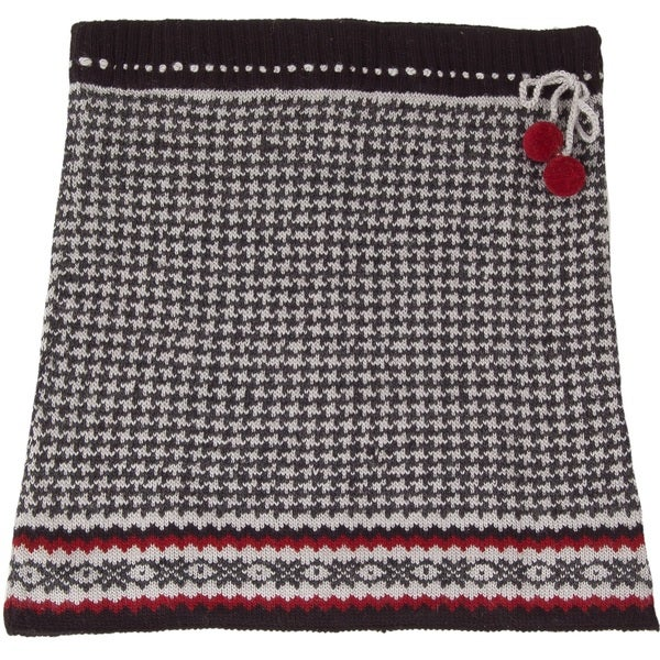 Shop Laundromat Womens Pearl Black Houndstooth Wool Knit Skirt
