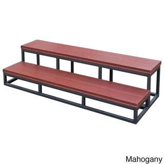 Cal Flame Red Plastic and Metal 2-tier Spa Step (Option: Red)