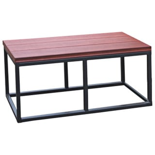 Cal Metro Smoke Metal and Plastic 16.5-inch x 36-inch x 18-inch Spa Bench (Option: Brown)