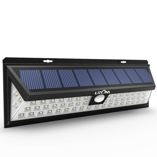 Shop 54 LED Solar Lights Outdoor Waterproof Solar Power