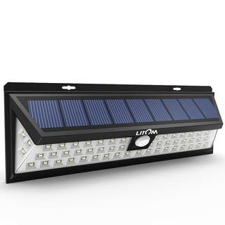 Solar Led Lights Outdoor Solar lighting for less overstock 54 led solar lights outdoor waterproof solar power lights with 120 wide angle motion sensor workwithnaturefo