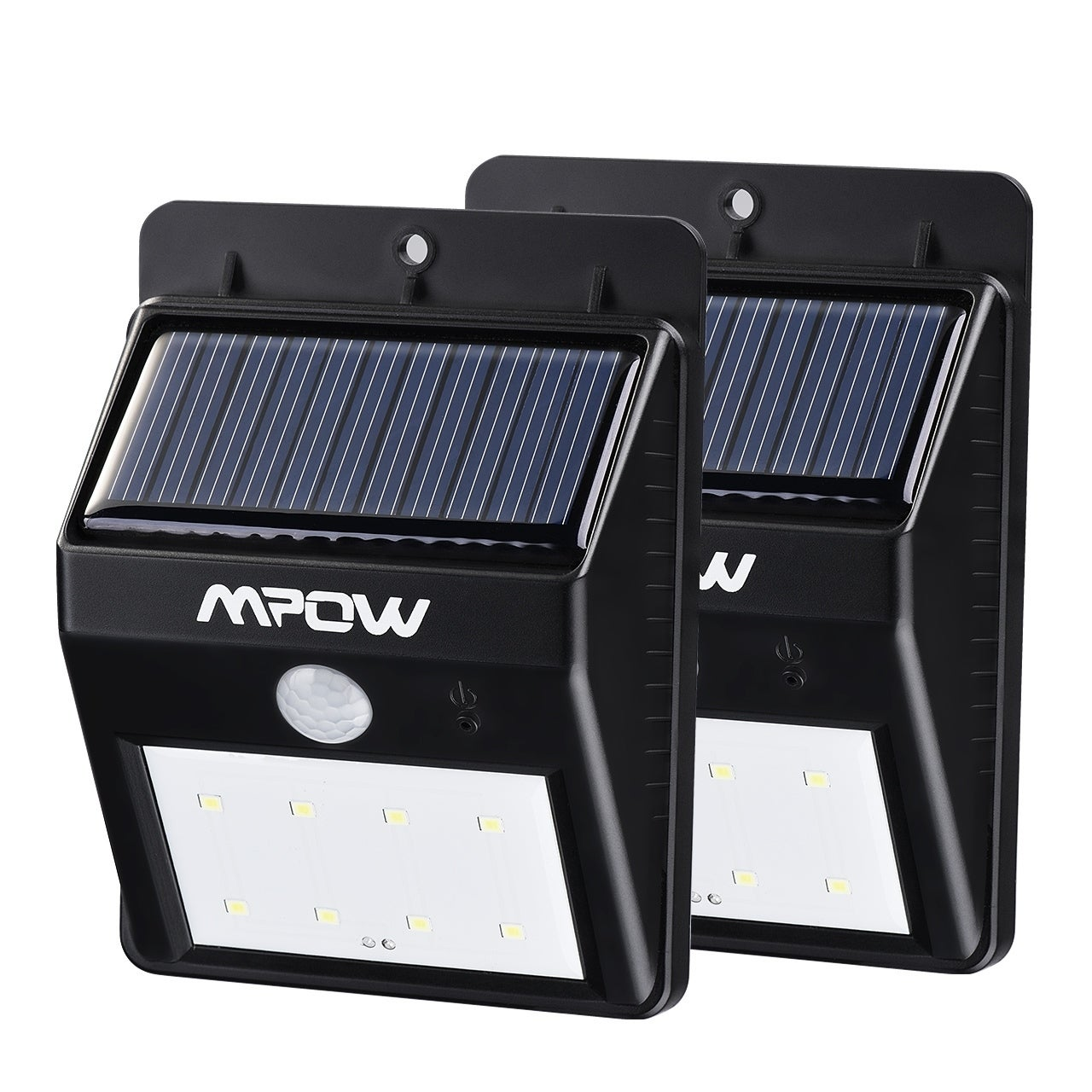 Mpow 8 LED Light Source Solar Powerd Wireless Security Mo...