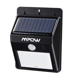 Mpow 8 LED Light Source Solar Powerd Wireless Security Motion Sensor Light Outdoor Wall/ Garden Lamp