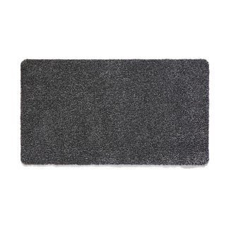 Muddle Mat Solid Color Cotton Absorbent Washable Runner Rug (1'8 x 4'11)