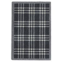 "Muddle Mat Multicolored Nylon/Rubber Washable Accent Rug - 1'8"" x 2'6"""