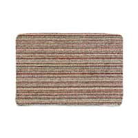 Muddle Mat Candy-stripe Absorbant Cotton Washable Accent Rug (2'8 x 3'2)