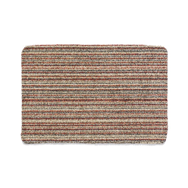 Washable Throw Rugs On Sale: Shop Muddle Mat Cotton Candy-stripe Cotton Microfiber