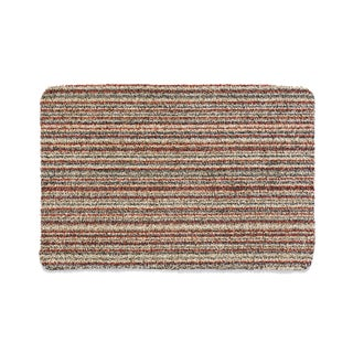 Muddle Mat Cotton Candy-stripe Cotton Microfiber Absorbent Washable Accent Rug (1'8 x 2'6)