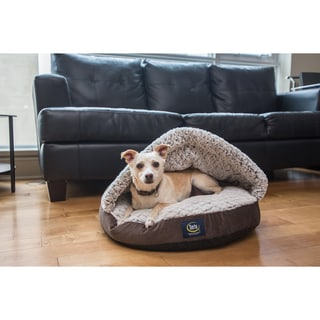 Shop Serta Pet Bed Snuggle Sherpa Nest As Is Item Free
