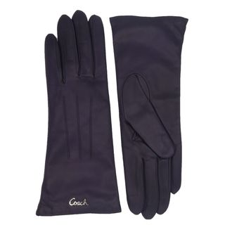 Coach Plum Leather Logo Gloves|https://ak1.ostkcdn.com/images/products/13814749/P20462474.jpg?_ostk_perf_=percv&impolicy=medium