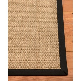 Natural Area Rugs Reyna Ebony Seagrass Rug (4' x 6')