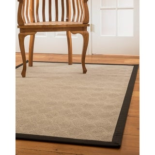 Natural Area Rugs Handmade Lancer Wool  Rug, 4' x 6' with Bonus Rug Pad