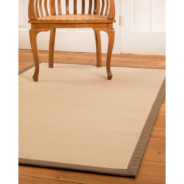 Shop Natural Area Rugs Handmade Lazio Wool Rug 6 X 9 On Sale