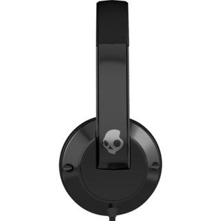 Skullcandy Uprock Black On-ear Headphones with Mic