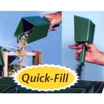 Perky Pet 4 Cup Quick-Fill Bird Feed Scoop