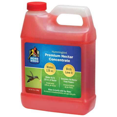 More Birds 32 Oz Premium Hummingbird Nectar