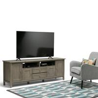 WYNDENHALL Norfolk 72 inch TV Stand for TVs up to 80 inches