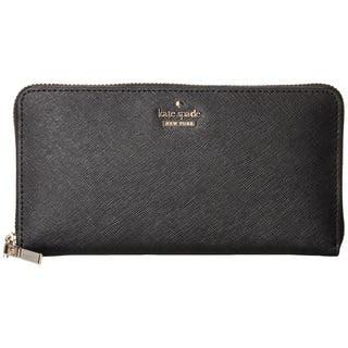 0e9352d7359e Kate Spade Cameron Street Lacey Black Leather Clutch