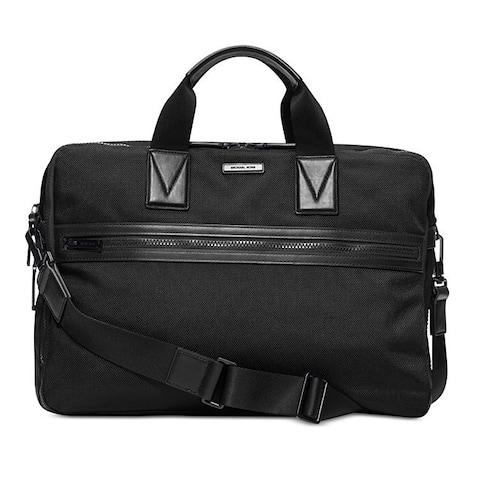 MICHAEL Michael Kors Parker Large Black Briefcase