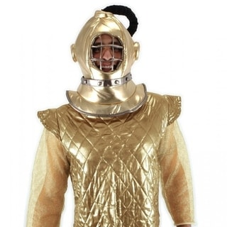 Seaich Diving Bell Scuba Helmet Adult Costume, Gold