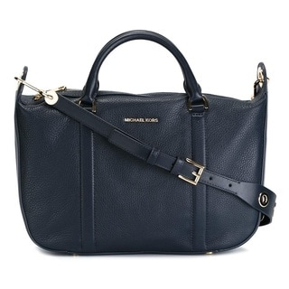 Michael Kors Raven Large Admiral Satchel Handbag