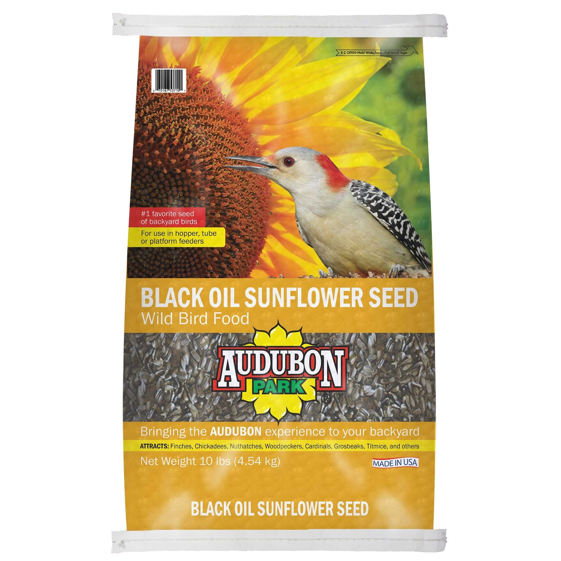 Audubon 10 Lb Sunflower Seed Wild Bird Food (10 LB)