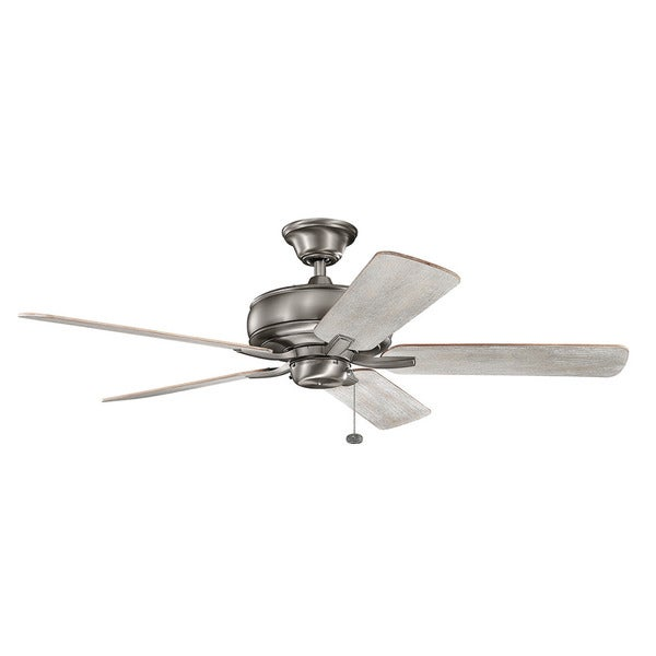 Kichler Lighting Terra Collection 52 Inch Burnished Antique Pewter Ceiling Fan Free Shipping Today 13815338