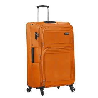 Mia Toro ITALY Cortina 28-inch Large Expandable Spinner Upright Suitcase