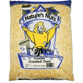 Natures Nut 25 Lbs Premium Bird Cracked Corn