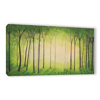 Herb Dickinson's ' Sherwood Forest II' Gallery Wrapped Canvas