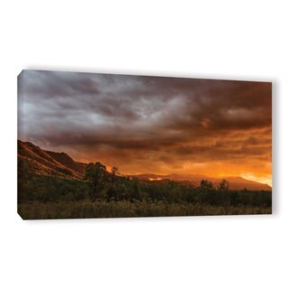 Tom Croce's ' Sunset In Cades Cove' Gallery Wrapped Canvas