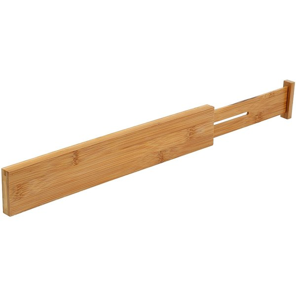 YBM Home & Kitchen Bamboo Deep Kitchen Drawer Divider 359 Size 22.25 in. X 2.5 X .625 in.