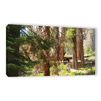 Mike Beach's ' CALIFORNIA 7' Gallery Wrapped Canvas - Green