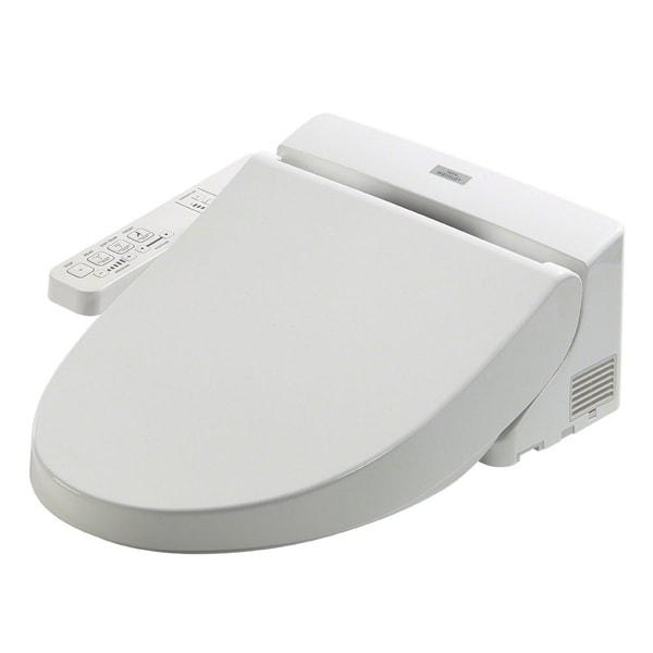 Shop Toto Washlet A100 Elongated Bidet Toilet Seat SW2014#01 Cotton ...
