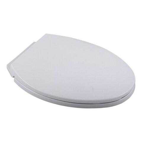 Delta Riosa White Elongated Soft Close Toilet Seat