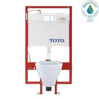 Toto Aquia Combo In-wall Tank, Bowl, and Pus H Plate Toilet