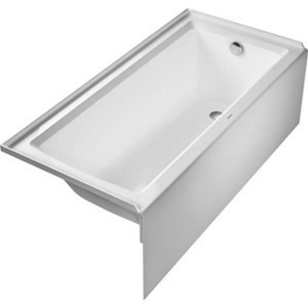 Duravit Architec 66 inch x 22 inch Acrylic Bathtub in White