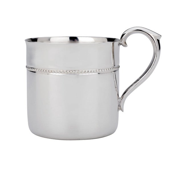 Reed and Barton Silver Metal Royal Bead Baby Cup