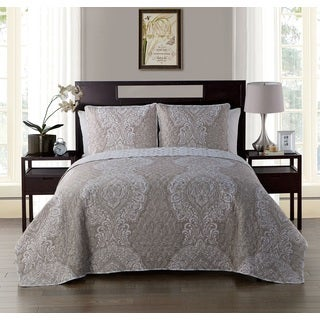 VCNY Quinn Reversible 3 Piece Quilt Set