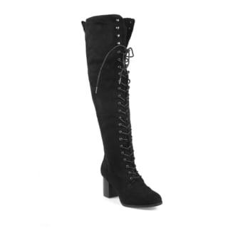 Mark and Maddux Stuart-02 Women's Knee High Boots