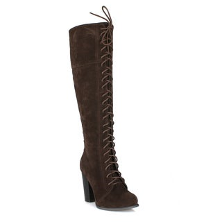 Mark and Maddux Byron-01 Women's Knee High Boots
