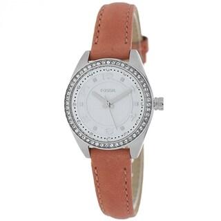 Fossil Classic BQ1225 Women's Silver Dial Watch